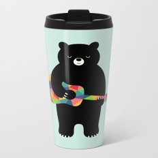 Happy Song Metal Travel Mug