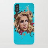 lana iPhone & iPod Cases featuring Lana by Devis Pederzini