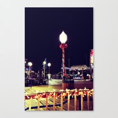 Holidays on the Pier Canvas Print