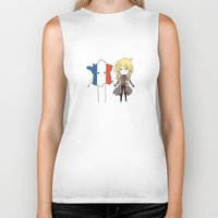 enjolras Biker Tanks featuring otp by The Eggplant Market