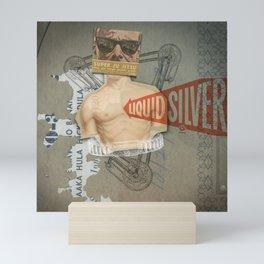Super Ju Jitsu Liquid Silver Mini Art Print