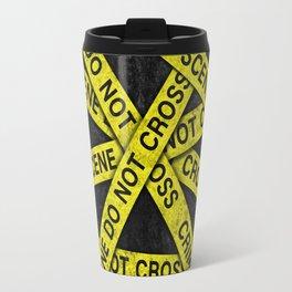 Crime Scene Do Not Cross Travel Mug