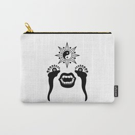 Buddha's Peepers Carry-All Pouch