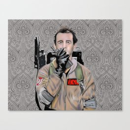 Bill Murray in Ghostbusters Canvas Print