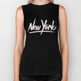 NYC is over the top Biker Tank