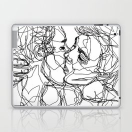 Boys kiss too Laptop & iPad Skin