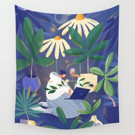 Sorry I have plants tonight Wall Tapestry