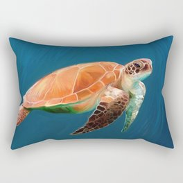 Turtle Rectangular Pillow