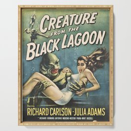 Creature From The Black Lagoon Serving Tray