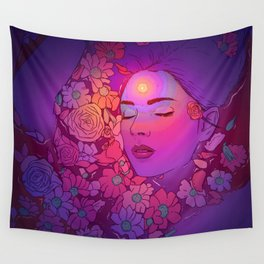 Floral Bath 2 | 2018 Wall Tapestry