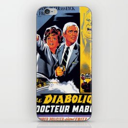 The Diabolical Doctor Mabuse iPhone Skin