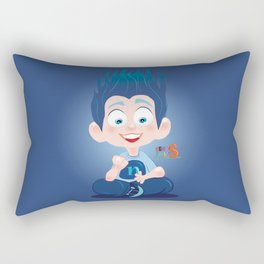 Nuly/Character & Art Toy design for fun Rectangular Pillow