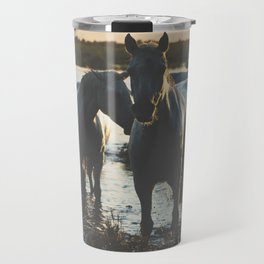 Camargue Horses III ... Travel Mug
