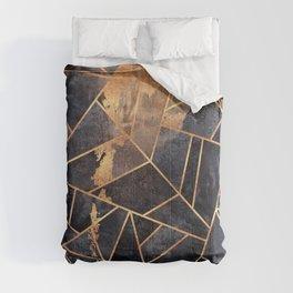 Cracked Stone Comforters