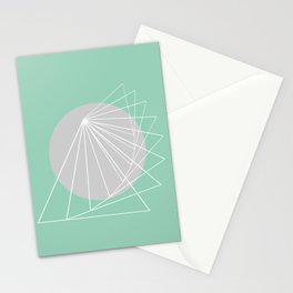 Everything belongs to geometry #5 Stationery Cards