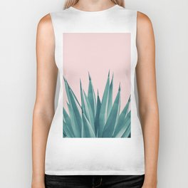 Blush Agave Dream #1 #tropical #decor #art #society6 Biker Tank