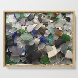 Sea Glass Assortment 1 Serving Tray