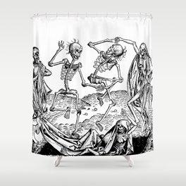 Danse Macabre Shower Curtain