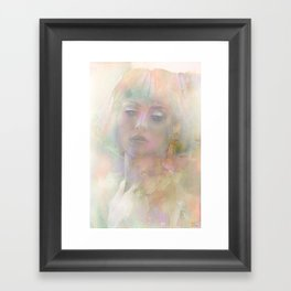 And if it was only a dream ... Framed Art Print