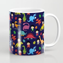 heroes and dinosaurs Coffee Mug