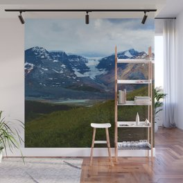Athabasca & Snowdome Glaciers in Jasper National Park, Canada Wall Mural