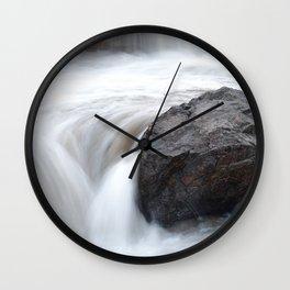 Apex Falls, Apex, Nunavut Wall Clock