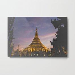 Yangon I  Metal Print