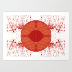 Sunday bloody sunday Art Print