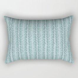 Herringbone Vines Rectangular Pillow