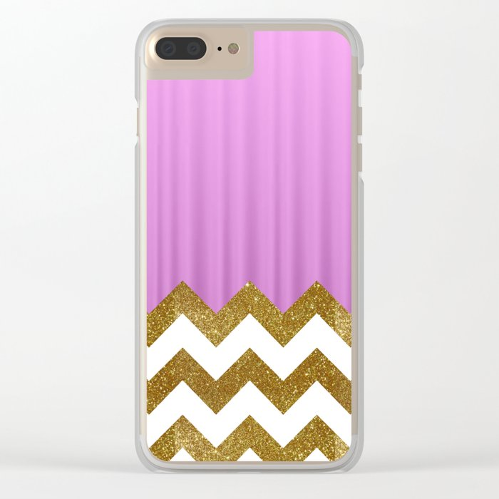 Pink Lodge Clear iPhone Case