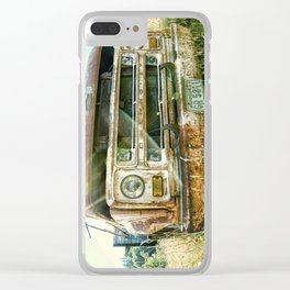Vintage Chevy Truck Clear iPhone Case