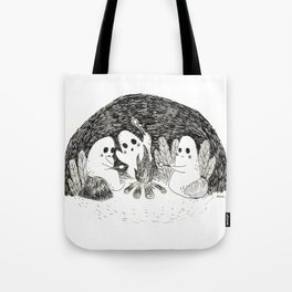 Marshmallows Ghosts Tote Bag