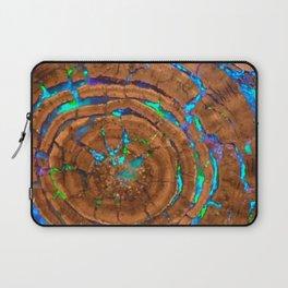 Sea of blue opal Laptop Sleeve