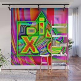 Dix.e #3 Wall Mural