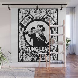 Yung Lean - Stackin it Wall Mural