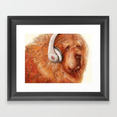 Music Therapy Framed Art Print