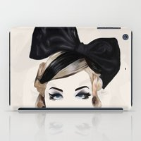 bows iPad Cases featuring Bows by SoulDeep