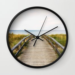 Path to the Beach (Color) Wall Clock
