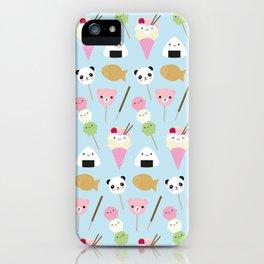 Japanese Kawaii Snacks iPhone Case