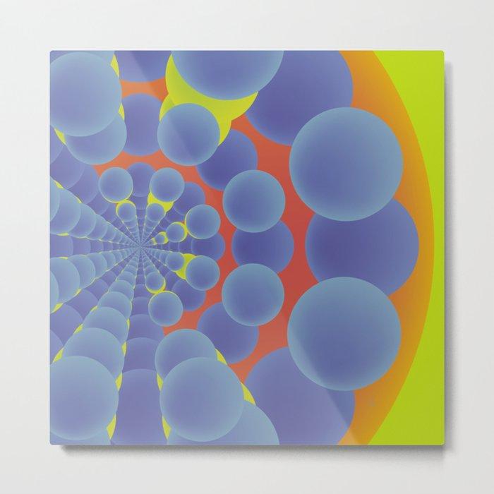 Túnel de colores · Glojag Metal Print