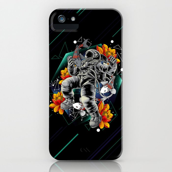 Lucky Spaceman iPhone Case