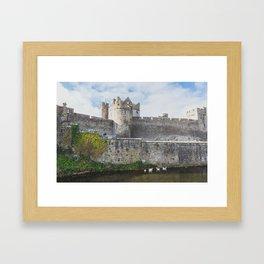 Cahir Castle of Ireland Framed Art Print