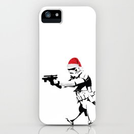 Working on holidays iPhone Case