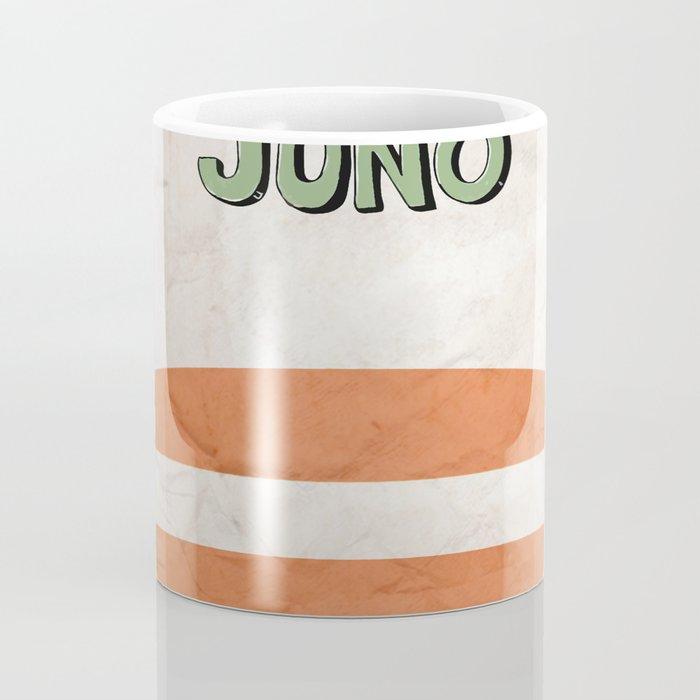 Juno - Alternative Movie Poster, classic movie, funny movie, minimal movie poster Coffee Mug