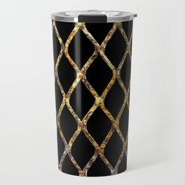 Rusty Corrugated Mesh Travel Mug