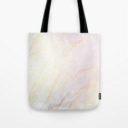 Abstract summer blush pink yellow whey pattern Tote Bag
