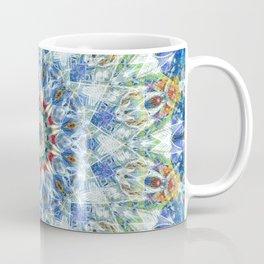 Kaleidoscope No. 3 - Blue Coffee Mug