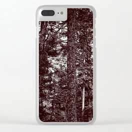 Forest of Contrast Clear iPhone Case