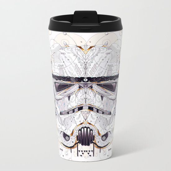 stormtrooper Metal Travel Mug