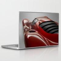 ferrari Laptop & iPad Skins featuring Ferrari by O.K.